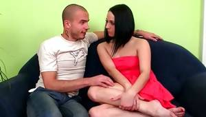 This brunette lass comes into her twat and inexperienced caressed by misbehaving human
