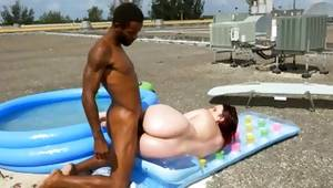 Gorgeous sultry and arousing baby is having a sweet sugar-plum of her dark-skinned male