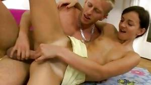 Watch my lass where mamdam is  on her delicious perfect vagina orifice