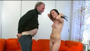Observe my gf porn making act of love with harsh and old senior