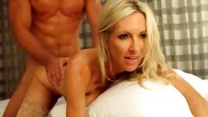 Sexually astounding blonde doxy is fucked roughly
