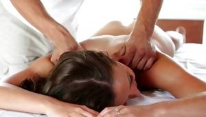 Excellent diaper lover doxy massaged on her fine person